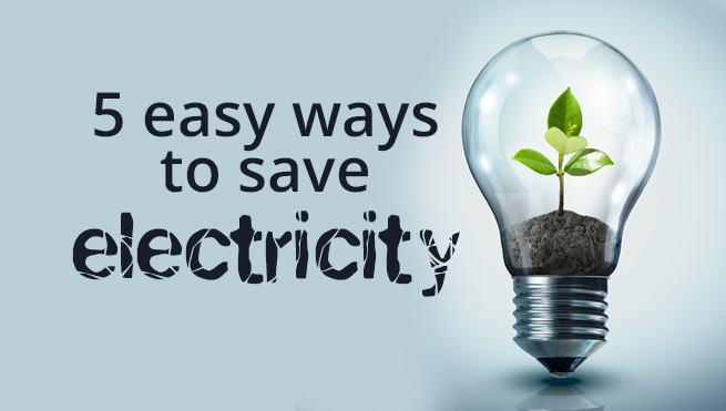 save Electricity during summers